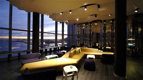 Bar W Hotel by The W Hotel In Barcelona By Ricardo Bofill Architecture
