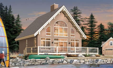 Small Lake Cottage House Plans Small New England Lake