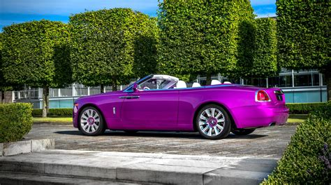2017 Rolls Royce Dawn In Fuxia 2 Wallpaper Hd Car Wallpapers