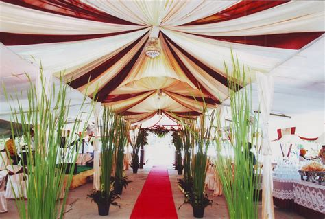 tenda  rias pengantin murah