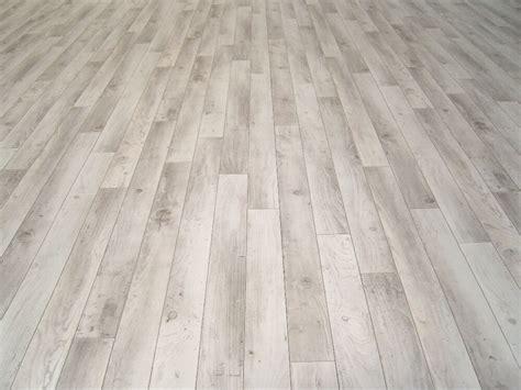 Pvc Bodenbelag Holz-optik Planken Weiß/grau 400 Cm Breite