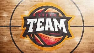 Basketball Court Logo Mockup On Wacom Gallery