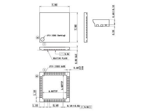 vqfn wqfn  tqfn lsi package lapis semiconductor