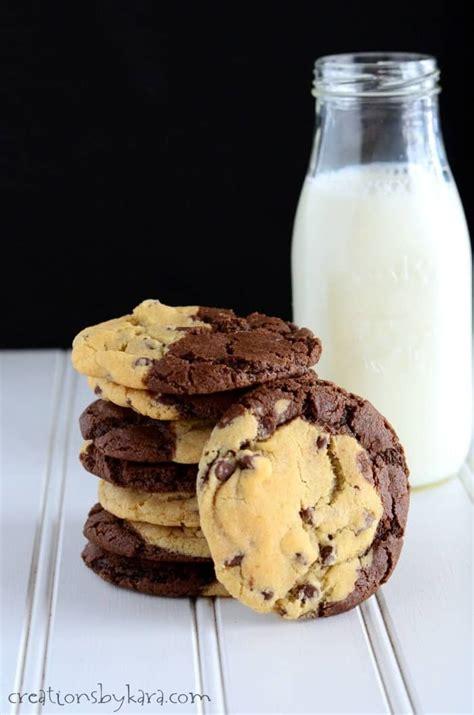 brookies  chocolate chip cookie  brownie  good