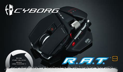 Cyborg Rat 9 Wireless Gaming Mouse Review