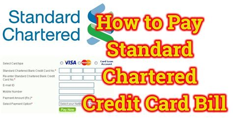 Standard chartered will need to access and verify your data from myinfo to facilitate your credit card application. How to pay Standard Chartered credit card bill online through other bank || Standard Chartered ...