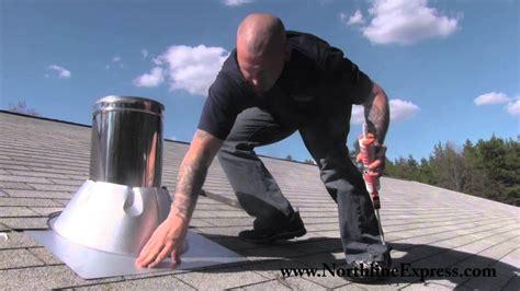 duravent chimney pipe   install  duravent chimney
