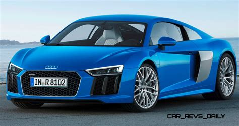 The brand that combines an artistic approach with superior technical innovations in the world of super sports cars. 2016 Audi R8 V10 and R8 V10 Plus