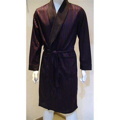 robe de chambre homme pas cher peignoir soie