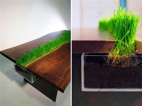 Der Couchtisch Aus Holzunique Wooden Table Inspired By Age Axe Tool by Cooler Pflanzen Beh 228 Lter Tisch Emily Wettstein