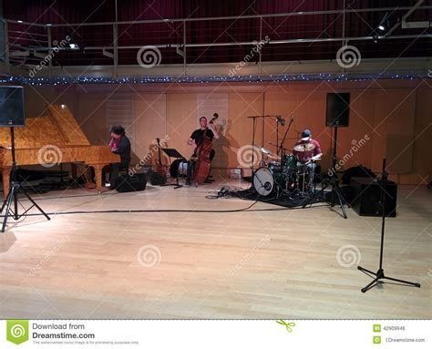 Jazz Trio Live In Session Editorial Photo  Image 42909946