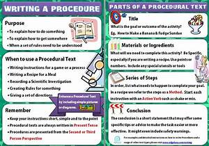 Writing Policies And Procedures Template How To Write An Excellent Procedural Text Literacy Ideas
