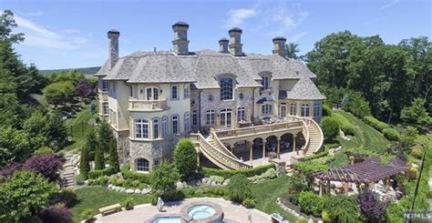 square foot french inspired mansion  mahwah nj