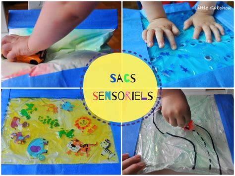 Activités d inspiration Montessori: les sacs sensoriels
