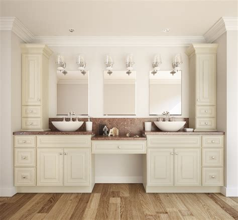 french vanilla glaze ready  assemble bathroom vanities