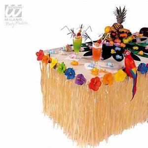 Deco Table Tropical : d co de table tropicale avec fleurs 275 cm difficilement inflammable prix minis sur ~ Teatrodelosmanantiales.com Idées de Décoration