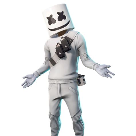 epic marshmello outfit fortnite cosmetic cost