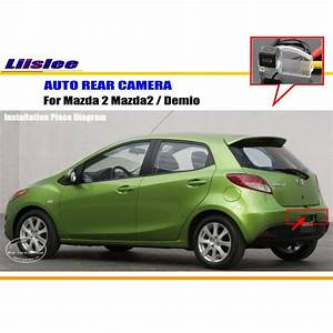 Liislee Car Rear View Camera For Mazda 2 Mazda2    Demio    Reverse Camera    Hd Ccd Rca Ntst Pal