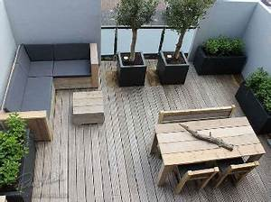 Aménagement Terrasse Appartement : comment amenager terrasse 15m2 ~ Melissatoandfro.com Idées de Décoration