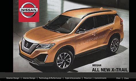 nissan x trail next generation 2020 تظهر صورة نيسان اكس تريل 2020 الجيل القادم في ترويج لتقنية