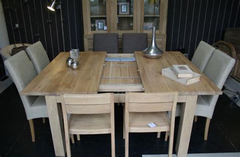 table carrée avec rallonge table sejour carr 233 e avec rallonge lama gourmand