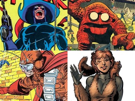 ridiculous obscure marvel characters part  geektyrant