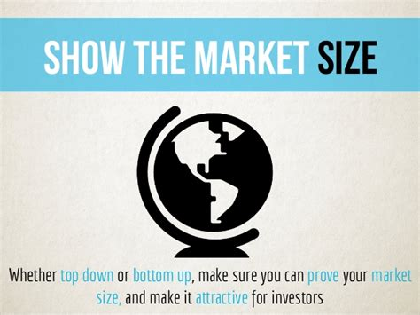 show the market size whether
