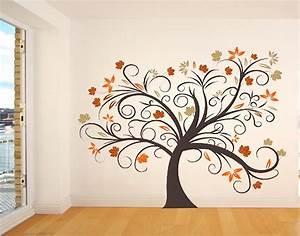 Wandbilder Zum Kleben : wandbilder malen eine individuelle dekoidee f r ~ Lizthompson.info Haus und Dekorationen