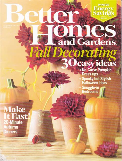 better homes and gardens fall decorating 30 easy ideas