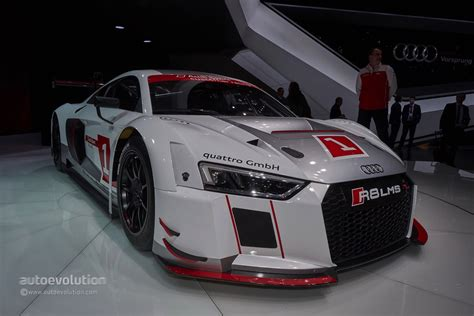 audi  lms races  gt  stiffer chassis