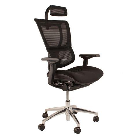 ergohuman office chairs in mesh with headrest ergonomic