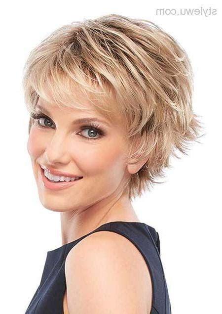 Short hairstyles women over 50 2018