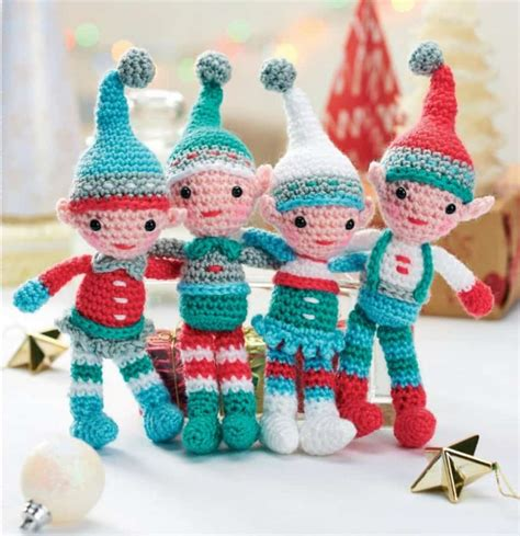 crochet christmas ornaments  patterns  whoot