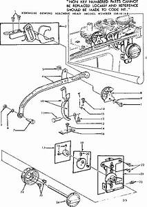 Kenmore 15819142 Mechanical Sewing Machine Parts