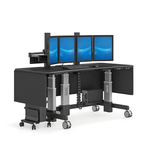 computer lift for desk electric lift computer stand desk afcindustries com