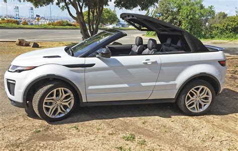 test range rover evoque convertible   hse dynamic