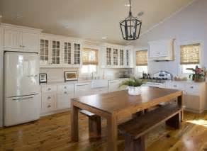 Stainless Steel Kitchen Island With Butcher Block Top 42 Kitchens With Vaulted Ceilings Home Stratosphere