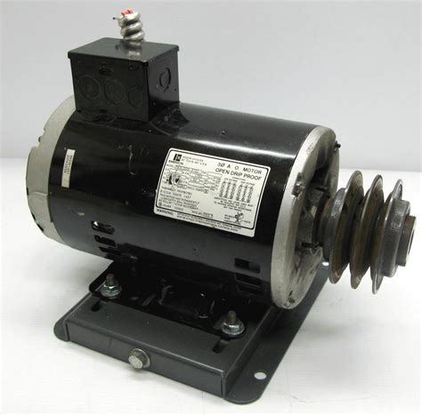 Emerson Electric Motors by Emerson 2hp Electric Motor 1750rpm 208 230 460v 3 Phase