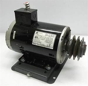 Emerson 2hp Electric Motor 1750rpm 208 460v 3