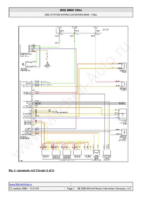 bmw xi  wiring diagrams sch service manual