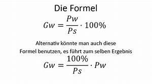 Grundwert Berechnen Formel : prozentrechnung mit formeln zum prozentrechnen ~ Themetempest.com Abrechnung