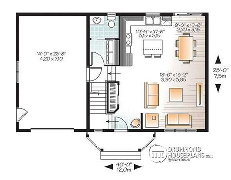 ranch floor plans open concept small home plans with garage homes floor plans