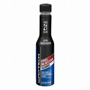 Super Tech Fuel Injector Cleaner  6 0 Fl Oz - Walmart Com