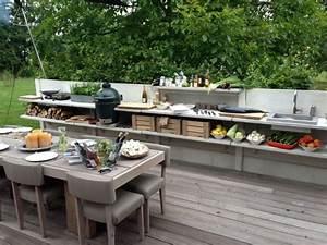 Outdoor Küche Beton : au enk che funktionale abgrenzung garten ausstattung ~ Michelbontemps.com Haus und Dekorationen