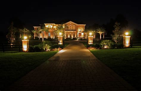 Outdoor Yard Lights by Landscape Lighting Pictures Gallery Qnud