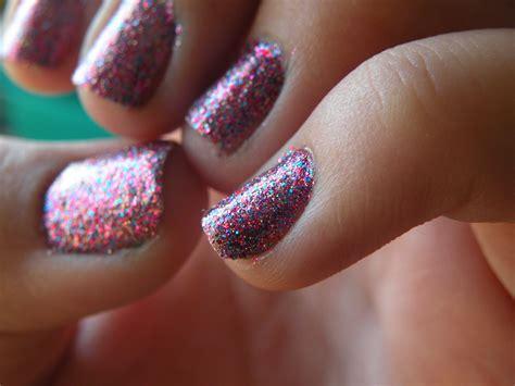Laura's Nail Art: glitter nails