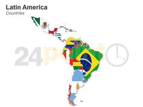 latin america map httpwwwpointcomppt shoplatin