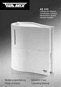 Air Humidifier Manual