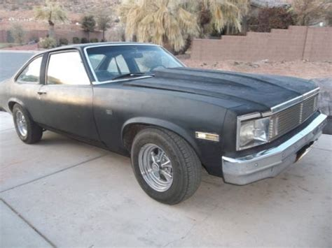 Sell Used 1979 Chevrolet Nova Custom Coupe 2-door *newer