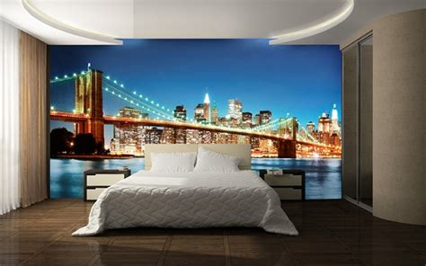 le poster mural comme decoration moderne  design